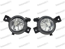 Front Fog Lights Lamps Pair Set 63177224643/644 For BMW X5 E70 LCI 2011-2013