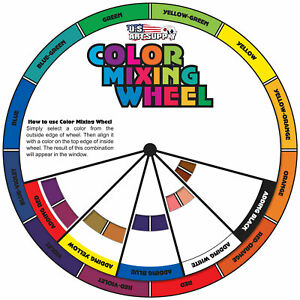 4 in. Color Mixing Wheel