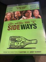 Sideways (DVD, 2005, Full Screen) Bx3