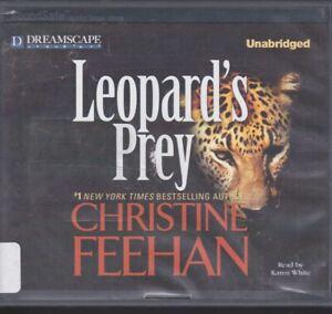 LEOPARD'S PREY by CHRISTINE FEEHAN ~UNABRIDGED CD AUDIOBOOK
