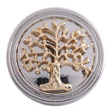 Button Click Druckknopf Perle Lebensbaum 5208 - kompatibel mit Chunk Armband