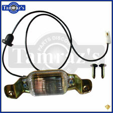 Camaro Chevelle Nova Rear License Plate Tag Lamp Light Assembly - Golden Star