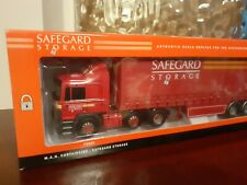 Corgi Trucks 1:50 Limited Edition MAN Curtainsider / Safeguard Storage - New