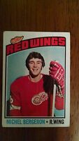 NHL COLLECTIBLE CARDS RED WINGS MICHEL BERGERON