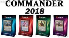 2018 Magic the Gathering MTG Commander Set of 4 Factory Sealed Decks - ENGLISH