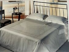 Deluxe Classic Italian Bedding Set Embroidered & Coverlet 100% Pure Cotton King