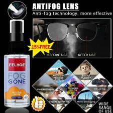 60ml Anti-Fog Spray Prevents Fogging For Glass Windows Mirrors Glasses
