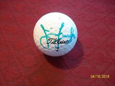 Jim Furyk Autographed Titleist Golf Ball