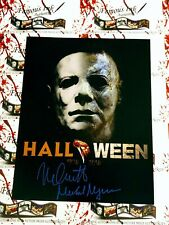 Nick Castle Autographed 11x14 Halloween 1978-2018 Photo Michael Myers
