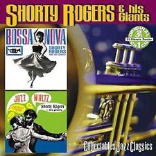 Shorty Rogers & his Giants: 2 on 1 Sealed CD. Bossa Nova / Jazz Waltz