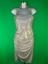 Jersey Patternless Midi Dresses for Women
