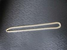 """24"""" gold colored Chain necklace, 6.25MM wide, weighs 1.5oz"""