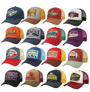 Stetson American Baseball Trucker Cap Adjustable choice of colours