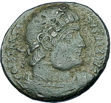 CONSTANTINE I the GREAT 330AD Authentic Ancient Roman Coin w SOLDIERS i65979