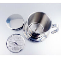 Stainless Steel Vietnam Vietnamese Coffee Maker Filter Set Drip Infuser