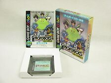 GB HAROBOTS Item ref/bcb Game Boy Color Nintendo Japan Boxed Game gb