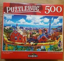 500 PIECE PUZZLEBUG JIGSAW PUZZLE - PARK GUELL, BARCELONA (brand new & sealed)!