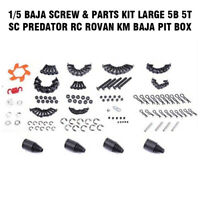 1/5 Baja Screw & Parts Kit LARGE 5B 5T SC Predator RC Rovan KM Baja Pit Box New