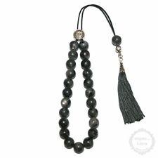 Labradorite 23 beads 10mm Komboloi - Authentic Handmade Worry Beads - Rosary