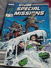 G.I. Joe Special Missions #6 1987 Cobra VF+ 8.5 Marvel Comics NEWSSTAND
