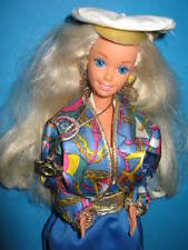 B536-Vieille Barbie sea holiday #5471 MATTEL 1992 complet + Complet Bijoux