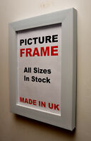 White Picture frame 40 mm Wide | All Sizes Best Photo Picture Frames U.K.