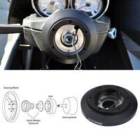 180H Aluminum Steering Wheel Hub Adapter Boss Kit For Audi A4 A6 VW Golf Jetta