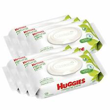 Huggies Natural Care Unscented Baby Wipes, Sensitive, 6 Disposable (288 Wipes)
