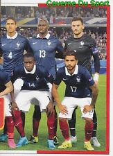 023 SQUADRA TEAM EQUIPE FRANCE 2/2 STICKER EURO 2016 FIERS D'ETRE BLEUS PANINI