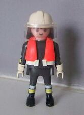 PLAYMOBIL (G2208) POMPIERS - Pompier d'Intervention avec Gilet de Sauvetage 4096