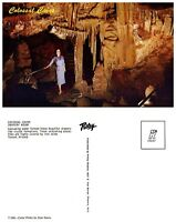 ARIZONA Postcard - Tucson, Colossal Caves - Drapery Room (A17)