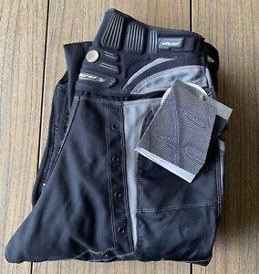 New DYE Hybrid Paintball C4 Pants Black/Grey Sz M