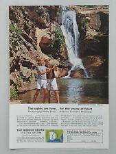 1965 Middle South Utilities Power Light Marble Falls Vintage Magazine Print Ad