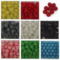 12mm Pearl Cluster Resin Pearls Craft Beads Gems  8 colours pack of 50 / P20