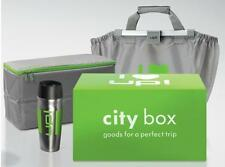 GENUINE VW UP! ACCESSORY GREEN CITY STORAGE BOX - SHOPPING COOLER BAG FLASK SET