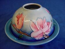 OLD TUPTON WARE MAGNOLIA BLOOM TUBELINED PORCELAIN TEA LIGHT CANDLE HOLDER 8011