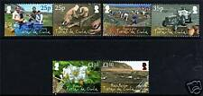 Tristan da Cunha 2009 Potato Production SCARCE 6v MNH