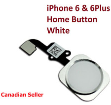 White Home Button Flex Ribbon Cable Touch ID Sensor Assembly For iPhone 6 6 Plus