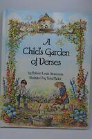 Tasha Tudor A Child's Garden of Verses Book 1st Edition