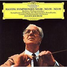 Haydn / Eugen Jochum - Haydn: Symphonies 88 91 & 93 [New CD] Japan - Import