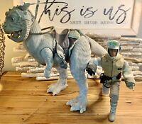 """2002 Hasbro Star Wars The Empire Strikes Back 12"""" Hoth Luke Skywalker & Tauntaun"""