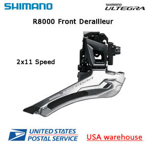 Shimano Ultegra FD-R8000 2x11 Speed Front Derailleur ROAD Clamp Band Brazed On