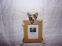 E&S Imports : Dog Photo Frame 2.5 x 3.5
