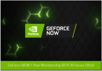 NVIDIA GEFORCE NOW CODE. 1 Year Founders Membership. Requires 3000 Series Card
