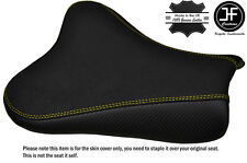 GRIP & CARBON YELLOW DS ST CUSTOM FITS SUZUKI GSXR 1000 05-06 FRONT SEAT COVER