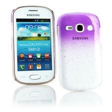 Étuis, housses et coques violet transparent pour téléphone mobile et assistant personnel (PDA) Samsung