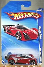 2010 Hot Wheels #119 All Stars 1/10 MAZDA FURAI Red Variant w/Chrome OH5 Spokes