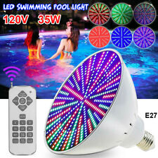 120V 35W Color Change Led Swimming Pool Fixture Light Bulb for Pentair / Hayward