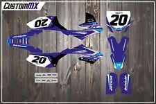 CustomMX:- Yamaha YZ65 Full Graphics Kit - Decals - Stickers - MX YZ 65