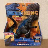 Godzilla Vs. Kong Battle Roar Godzilla Playmates Toys Figure Monsterverse NEW